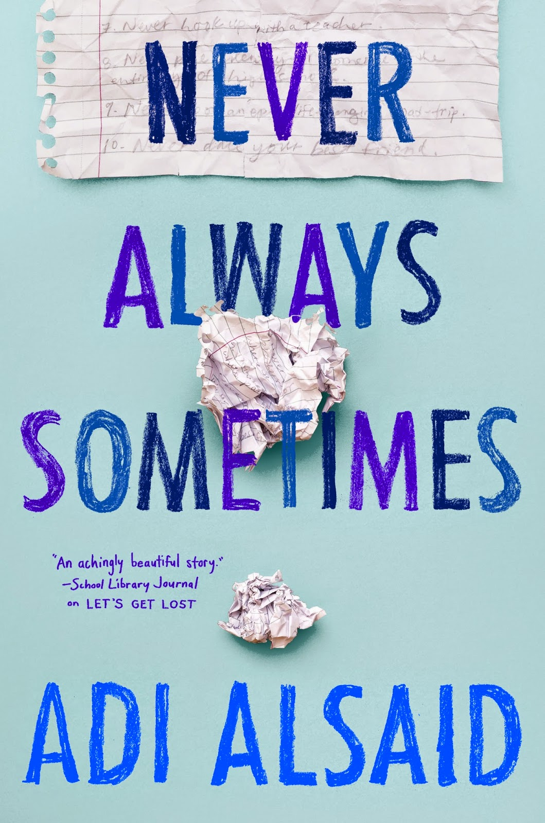 https://www.goodreads.com/book/show/24338298-never-always-sometimes?ac=1
