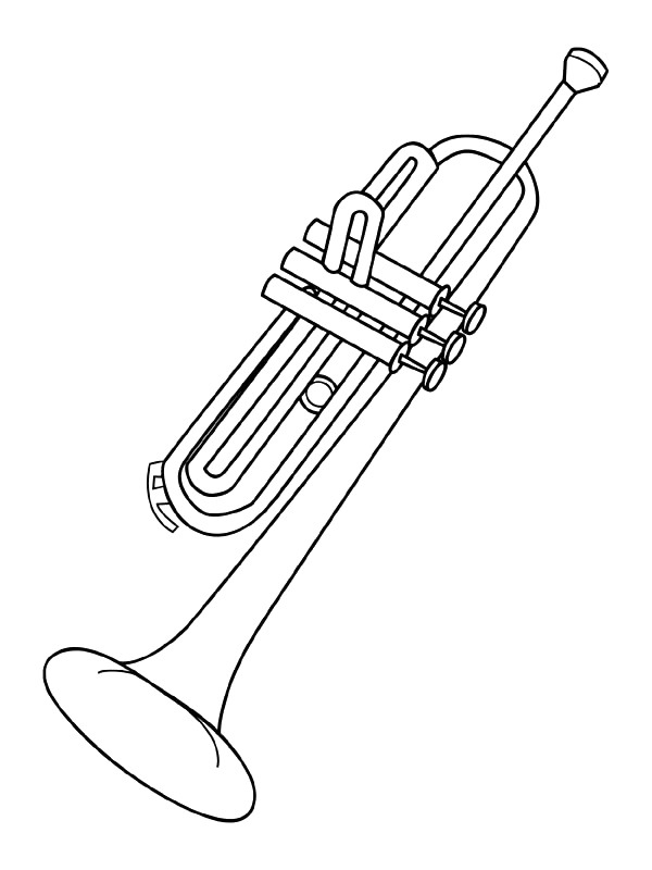 instruments coloring pages - photo#24