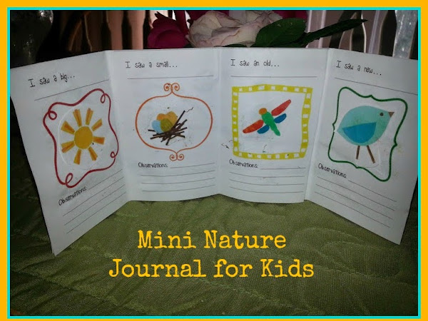 Mini Nature Journal Project for Kids