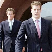 Os gêmeos Winklevoss.