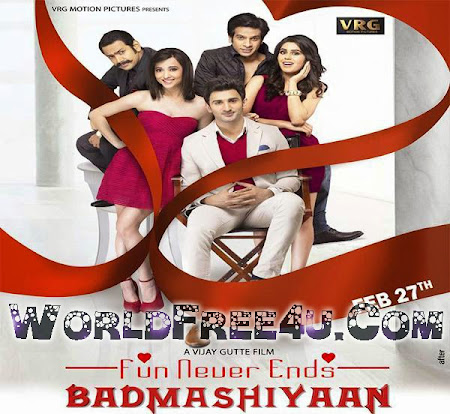Poster Of Hindi Movie Badmashiyaan (2015) Free Download Full New Hindi Movie Watch Online At worldfree4u.com