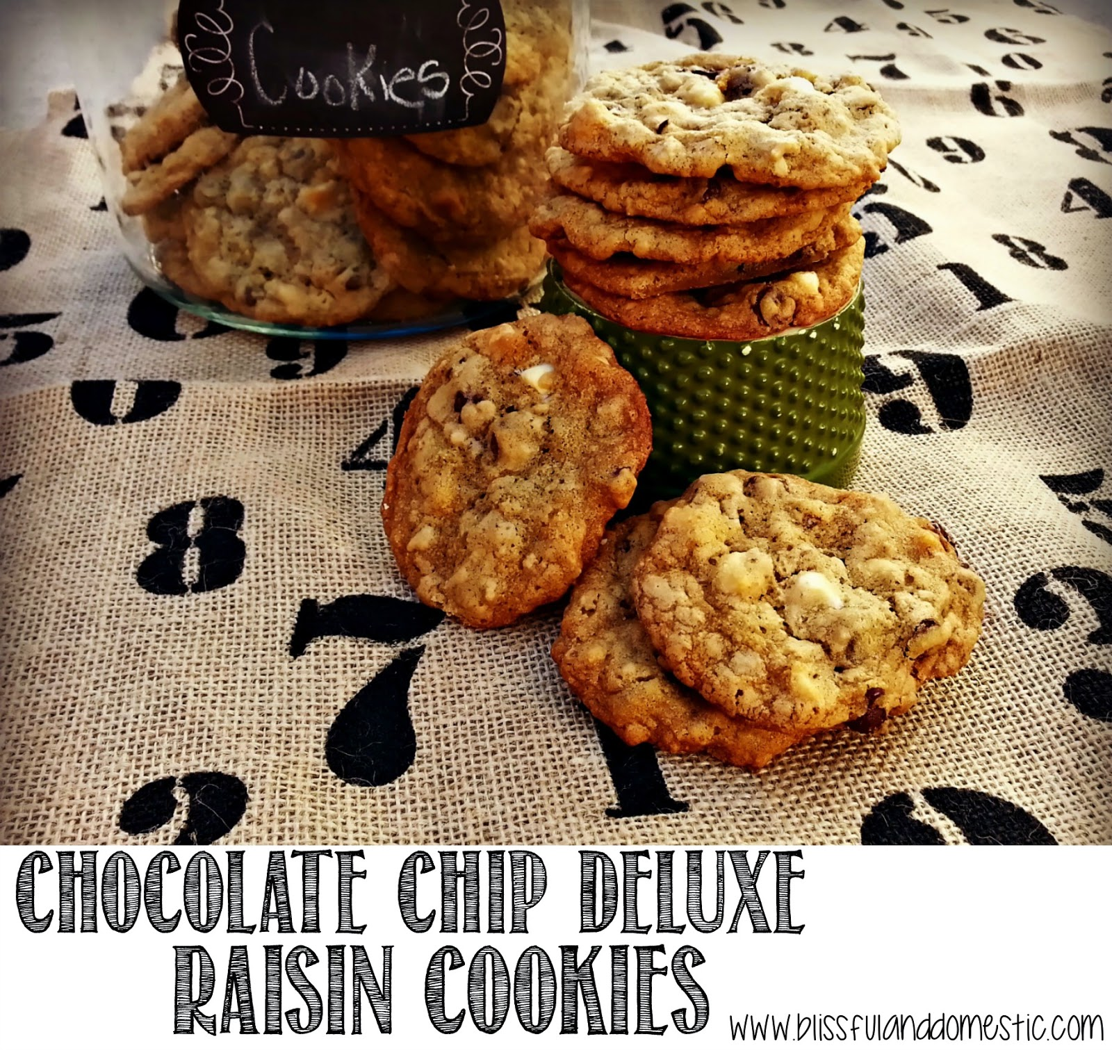 Chocolate Chip Deluxe Raisin Cookies