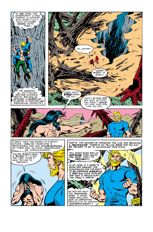 Captain America (1968) Issue #336 #265 - English 23