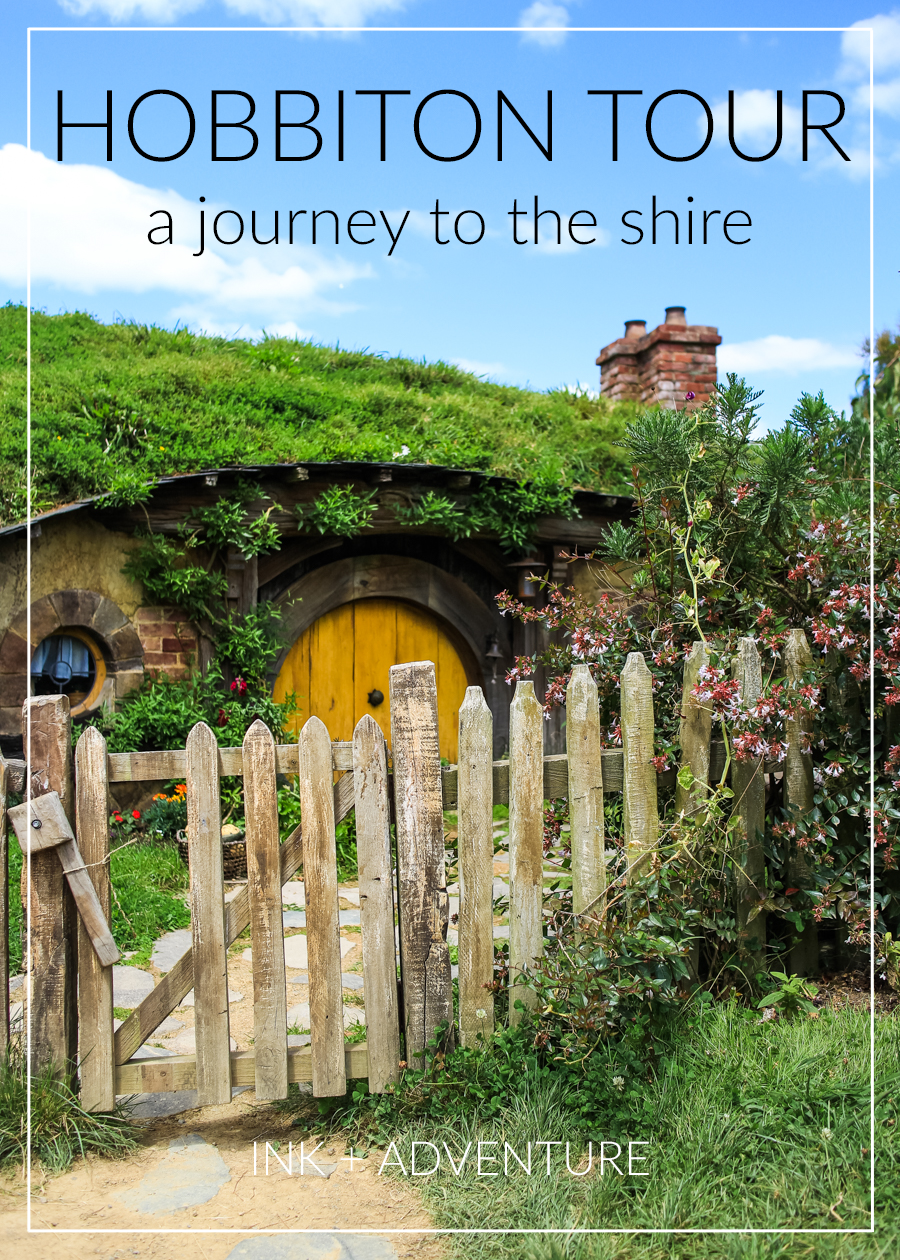 touring Hobbiton in New Zealand