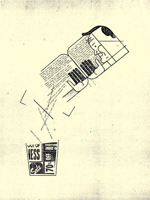 Curt Menlo broken type and illustration
