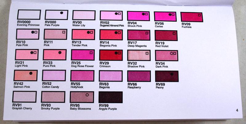 Copic Australia Copic Colour Swatch Book