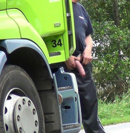 Truck stop cock