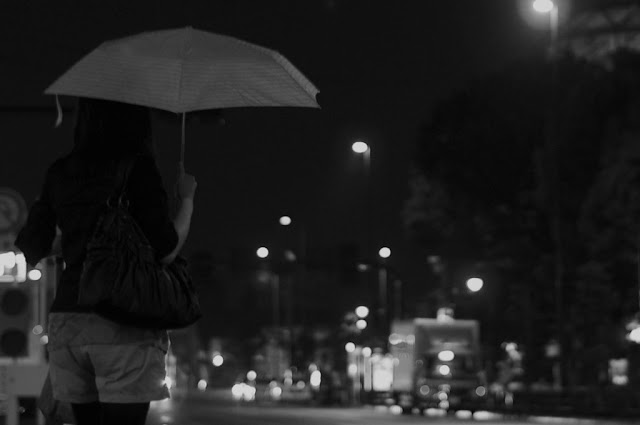 The good woman who gets wet to rain