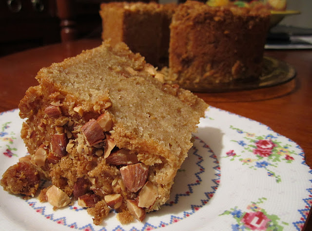 The Irish Mother: Brown Butter, Ginger, and Sour Cream Coffee Cake