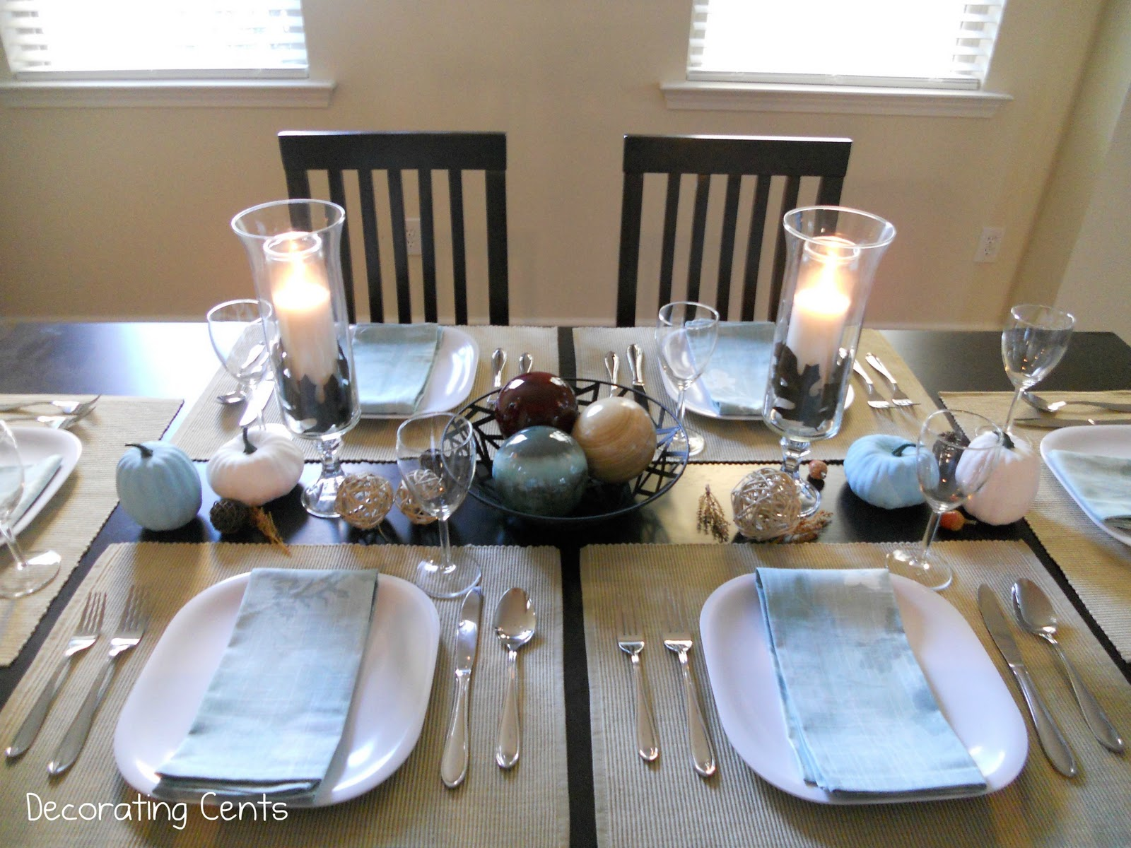Fall Project Week #6- Glam Fall Decorating with Decorating Cents