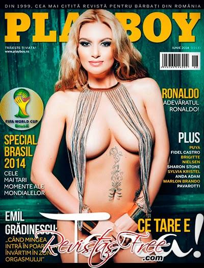 Playboy Romania - Tara Holtea - Junho 2014
