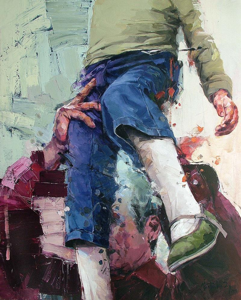 Realism Arts: Martinho Dias, 1968 ~ Abstract Realism Painter