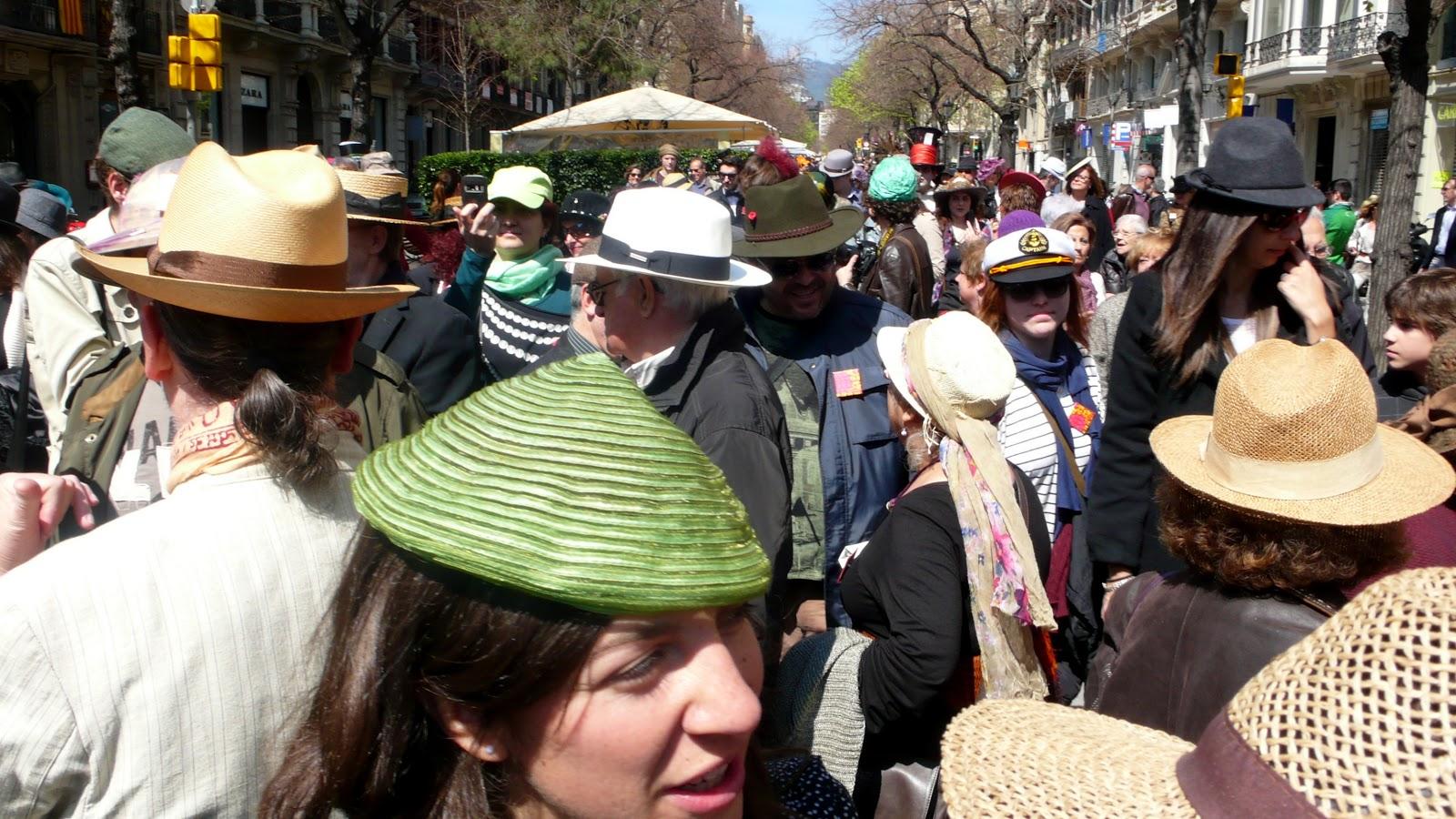 Mi Barcelona  Passejada amb barret 2013. Sombrerería Mil d9cd2969919