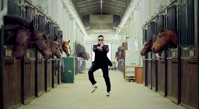 Psy Gangnam Style horses equestrian