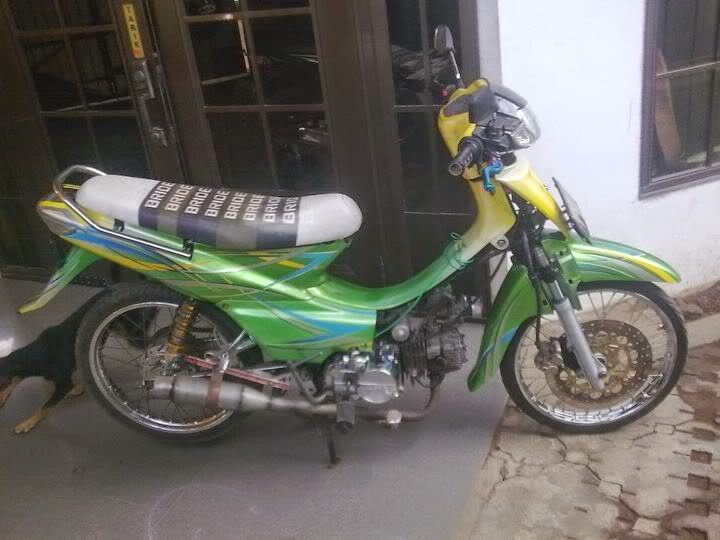 Foto Modifikasi Honda Supra X 110 Tahun 2005 2006 2007 2008