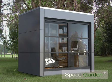 shedworking space garden. Black Bedroom Furniture Sets. Home Design Ideas