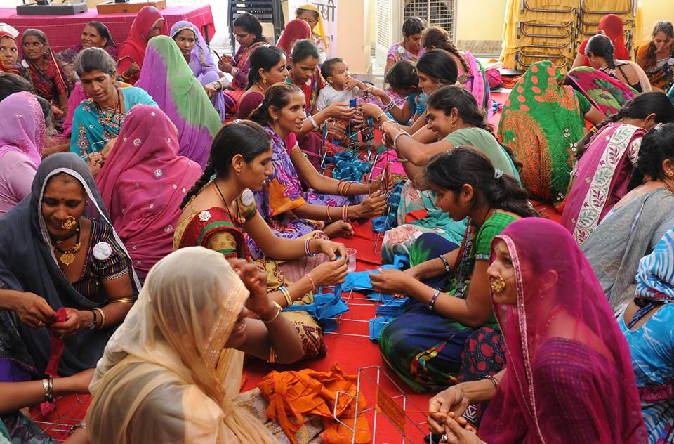 Rural Women at SAKHI Workshop