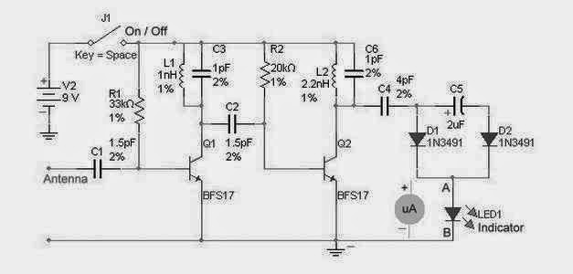 Marvelous Rf Detector Circuit For High Frequency Supreem Circuits Diagram Wiring 101 Ponolaxxcnl