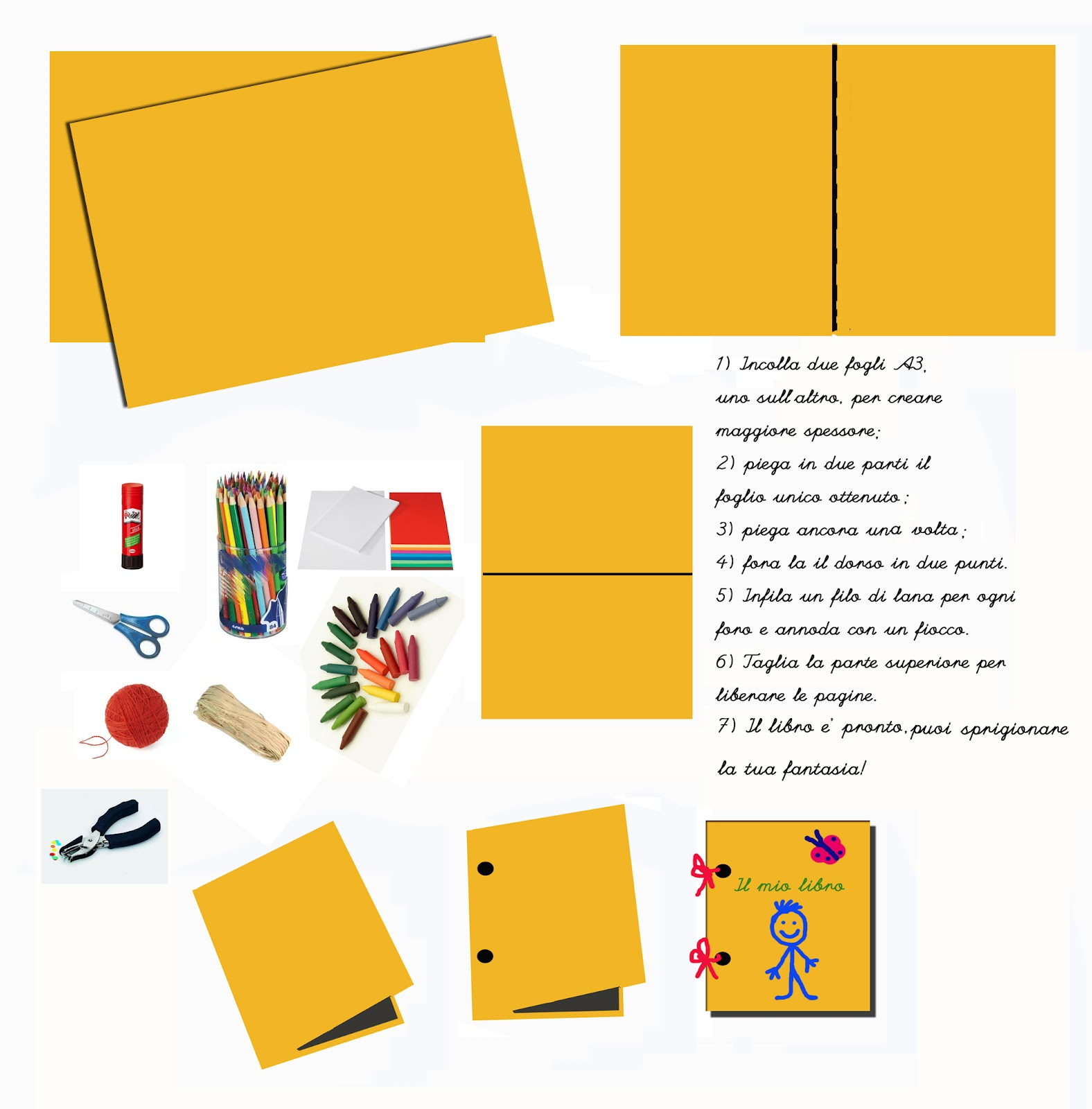 """Extrêmement Barrueca: Laboratorio creativo: """"il mio libro"""" AG91"""