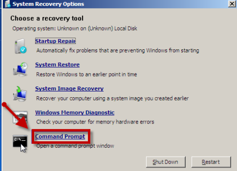 how to recover files from hard drive using command prompt