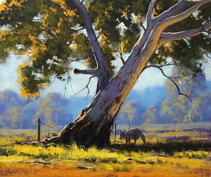 Ландшафты зеленого континента. Graham Gercken
