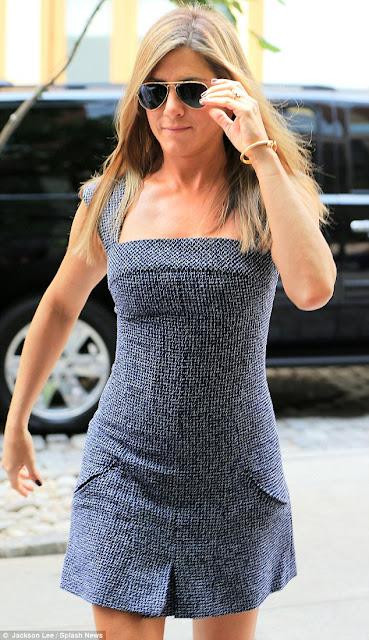 Jennifer Aniston in New York