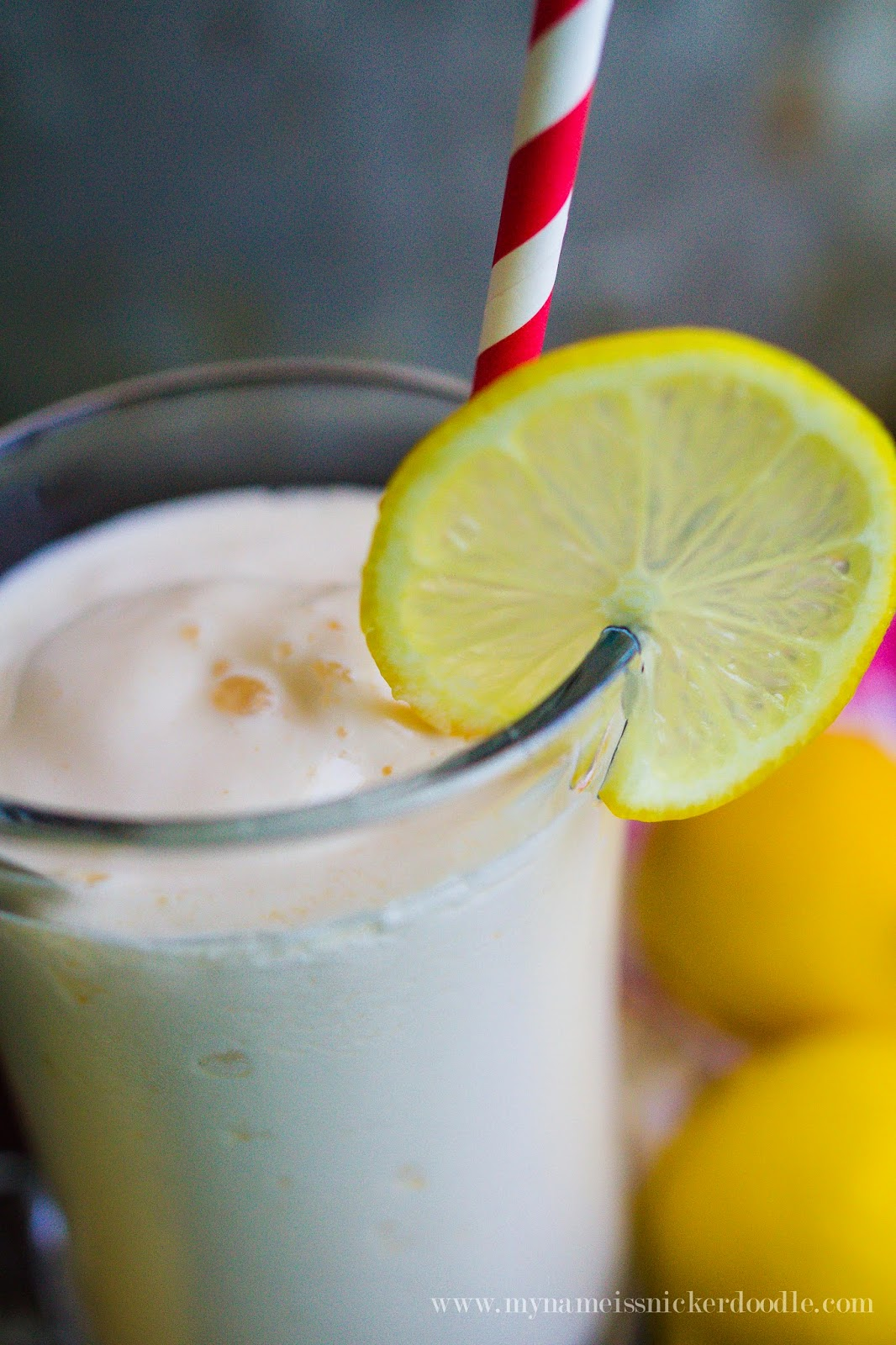 This Frosted Lemonade only has two ingredients and tastes like the one at Chick-fil-a  |  My Name Is Snickerdoodle
