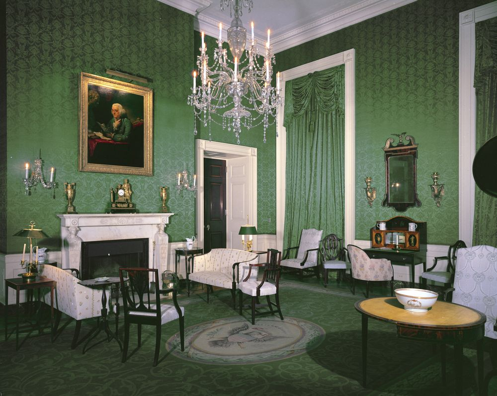Old dining room