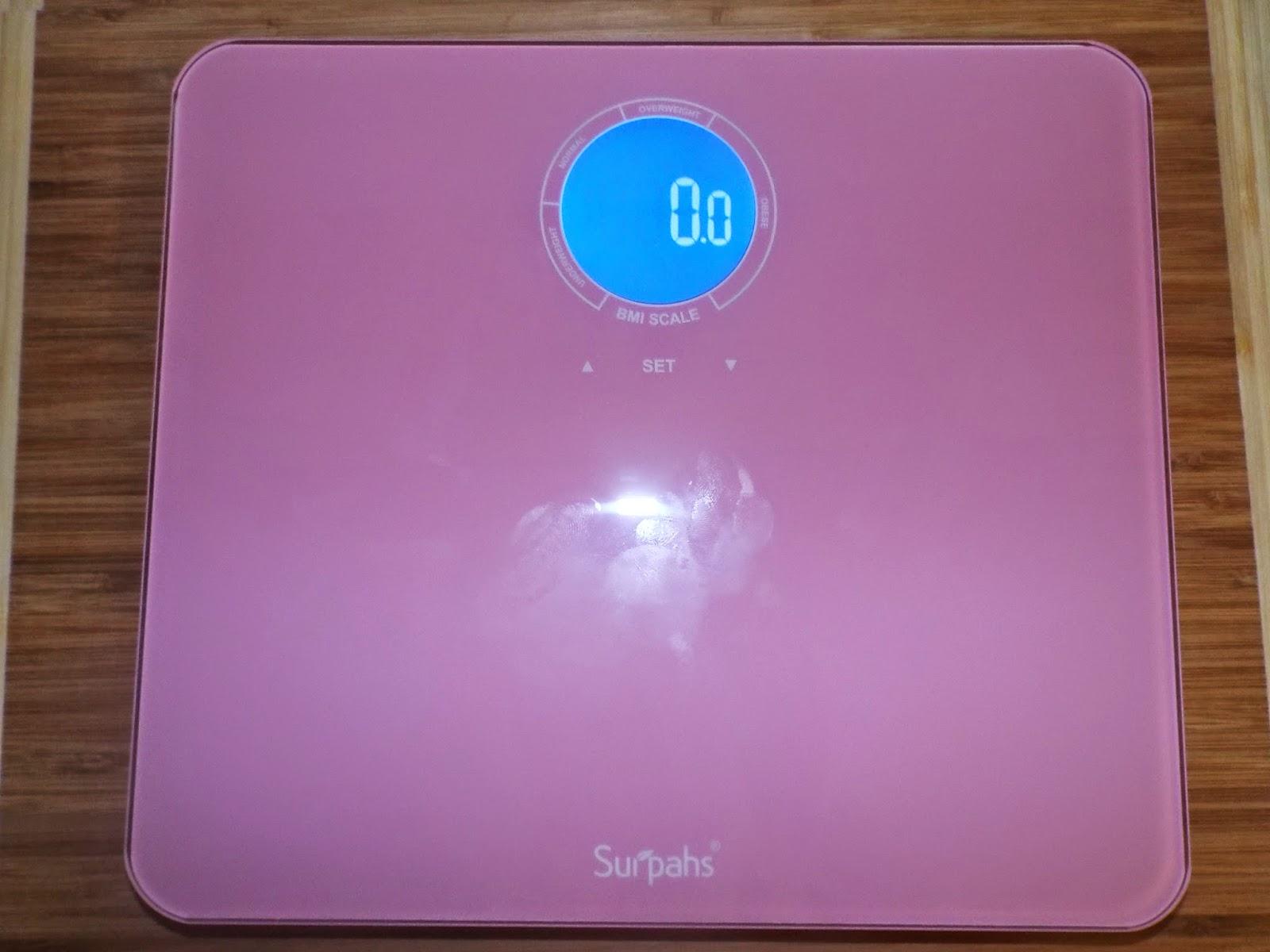 Surpah's Pink Digital Scale: On