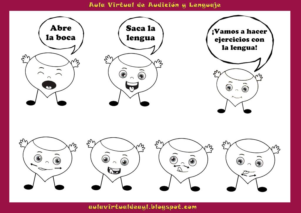 El rinconcito de audici n y lenguaje praxias de las - Laminas para la pared ...