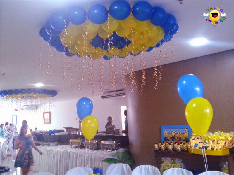 Decoração De Festa Infantil Balão Festeiro Em São Luís Minions