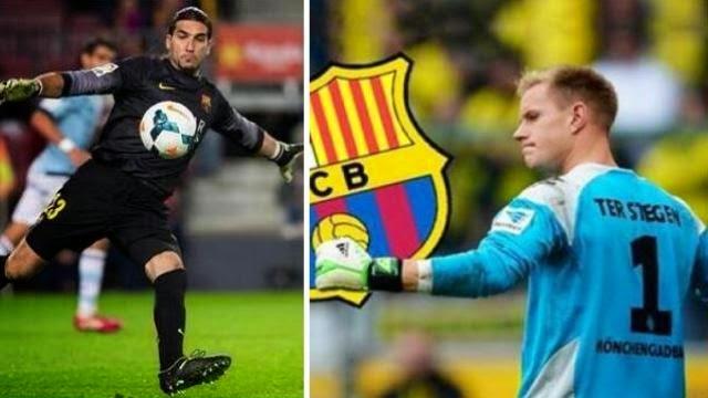 رسميا : برشلونة يعلن تعاقده مع الحارس تير شتيغن .. و بينتو يرحل عن النادي