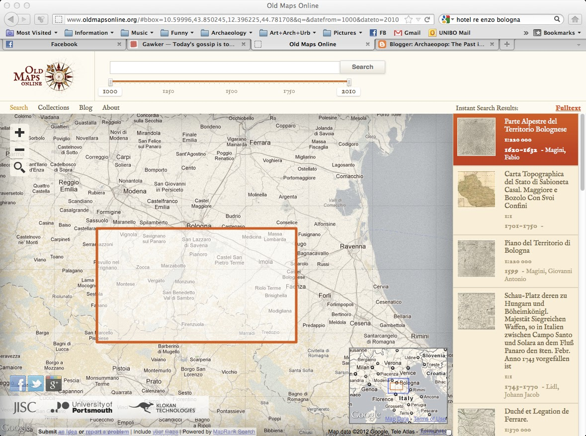 Archaeopop The Past In Popular Culture Old Maps Online - Buy old maps online