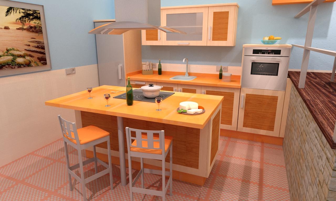 Cocina mod congo - Ver cocinas montadas ...
