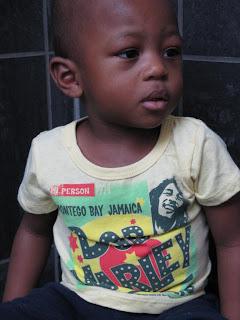 Bob Marley Montego Bay Baby Tee