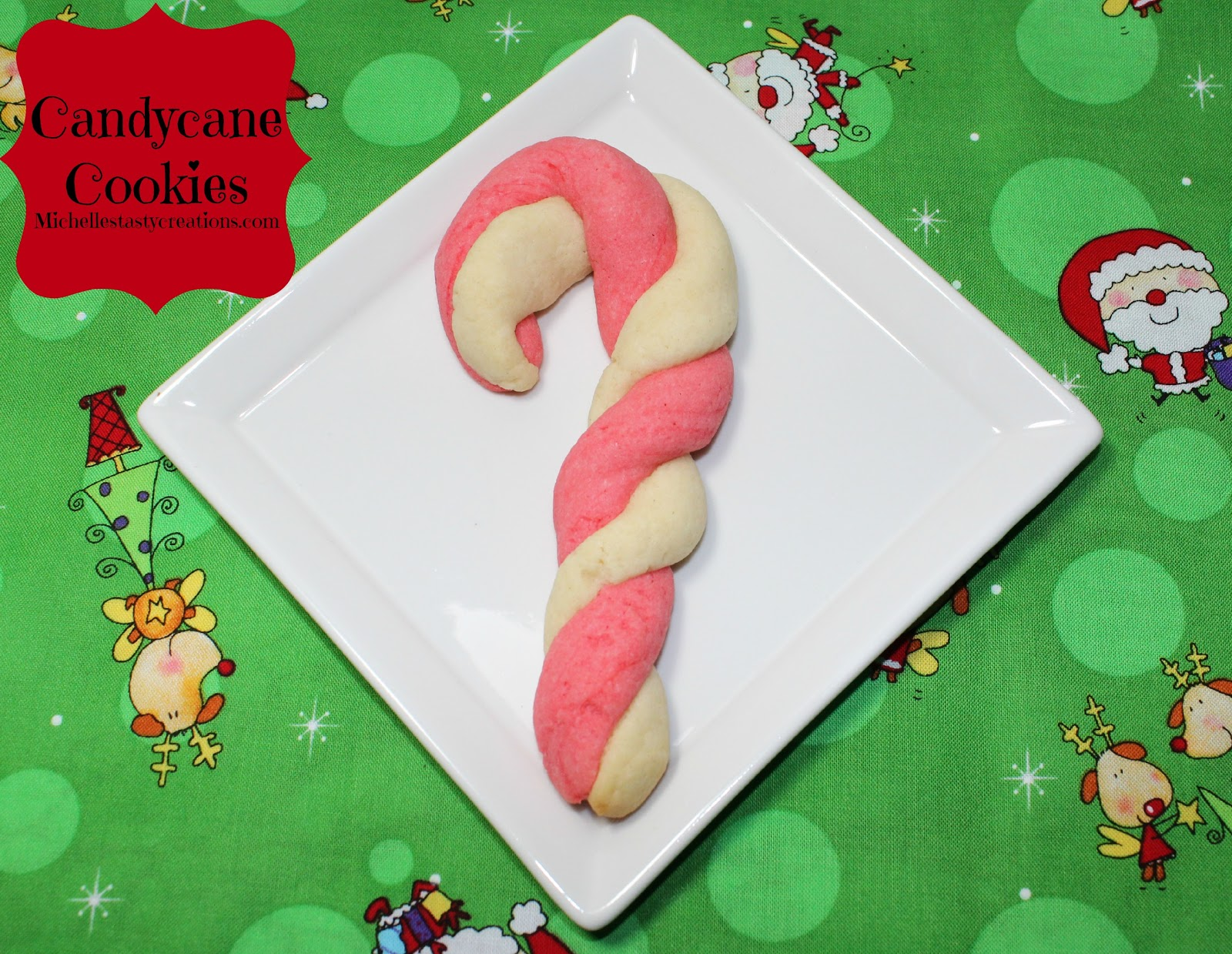 Michelle's Tasty Creations: Candy Cane Cookies