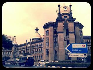 travel, Photo taken on May 2013, cloudy skies in Kuala Lumpur, Malaysia