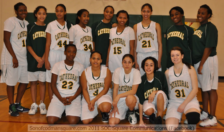 2010-11 Cathedral High Girls Basketball Team!
