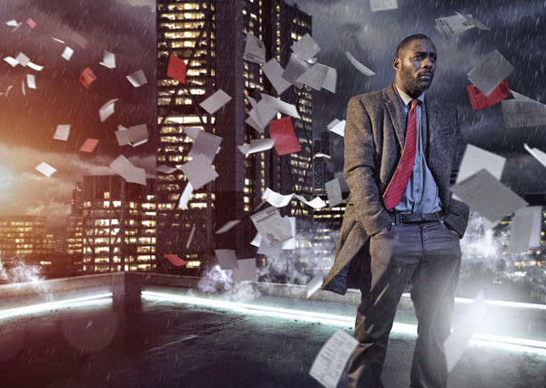 Idris Elba in Luther series 3, BBC1