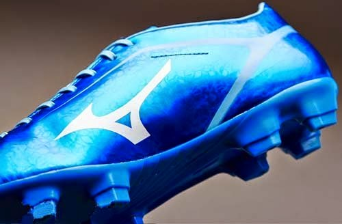 Mizuno Basara 003 FG football Boots with blue color