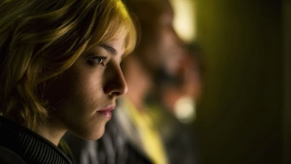 Olivia Thirlby in as Anderson in Dredd.