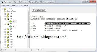 Compile Script
