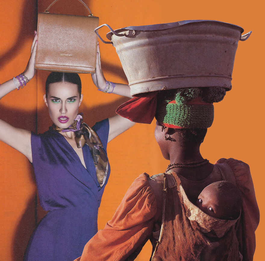 35 Cynical Collages That Tell Uncomfortable Truths About The World - Thirst