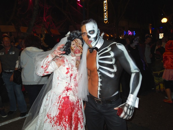 Spooky West Hollywood Halloween Carnaval costumes
