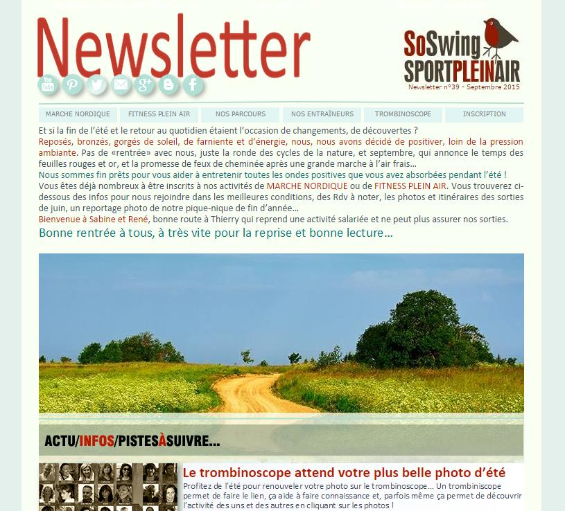 Lire la Newsletter mensuelle