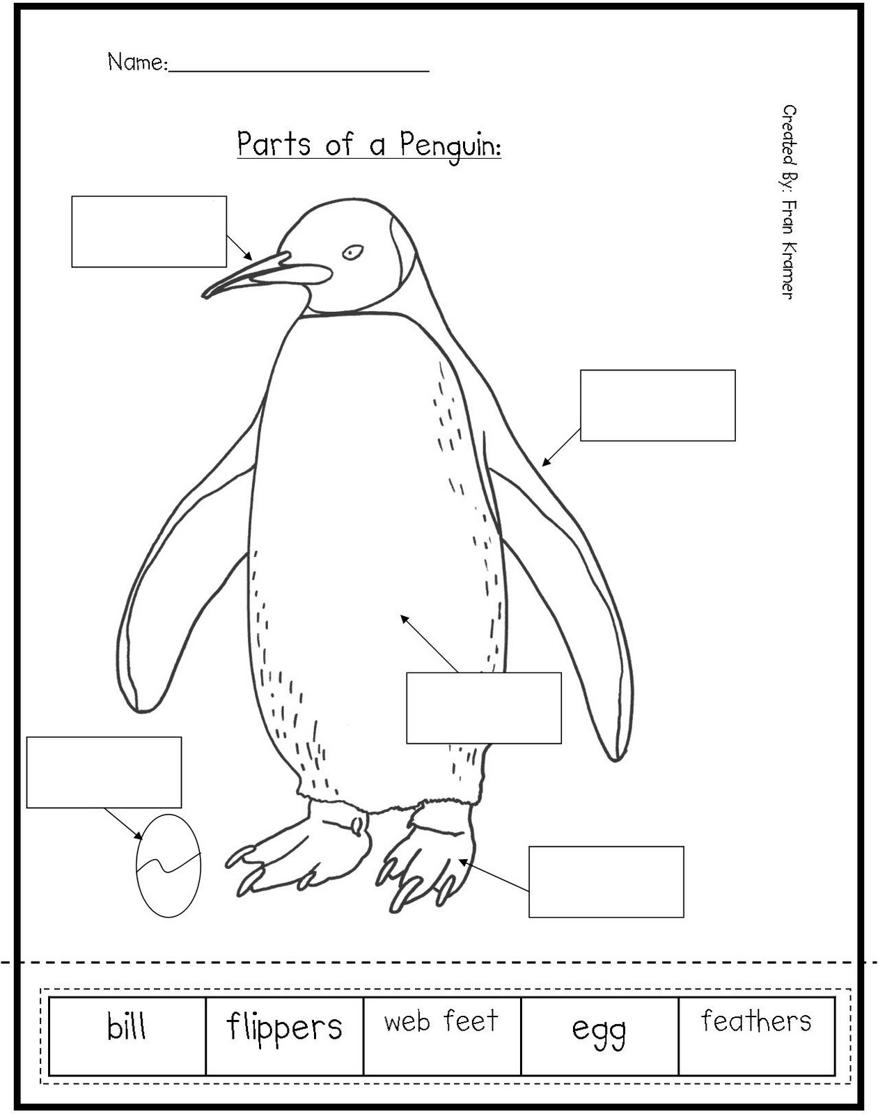 math worksheet : kindergarten crayons here are some penguin activities for teachers  : Parts Of A Book Kindergarten Worksheet