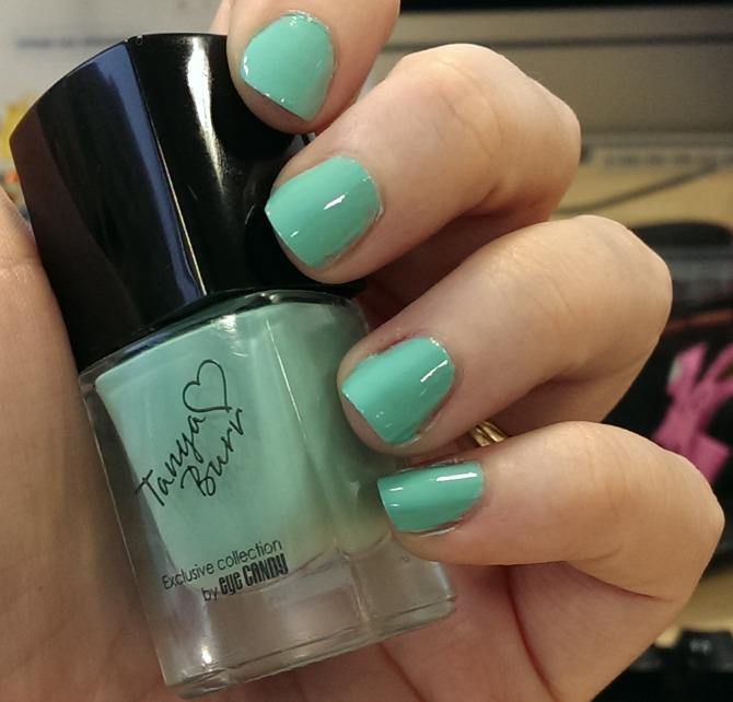 Tanya Burr nail polish in Little Duck