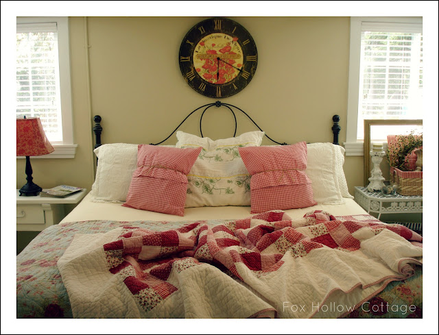 Easy Spring cottage bedroom refresh