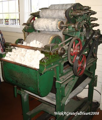 carding machine for wool