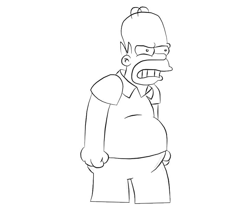 printable-homer-simpson-character_coloring-pages